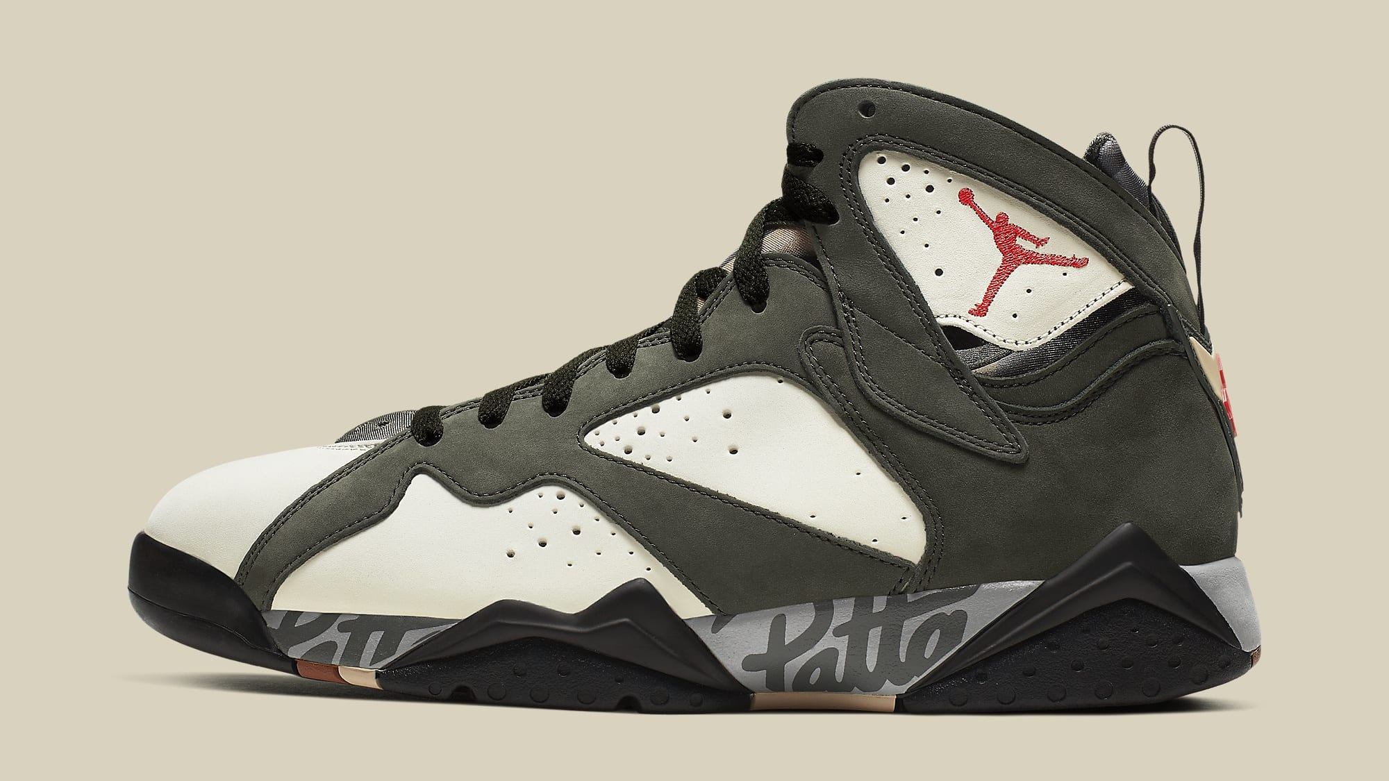 Patta x Air Jordan 7 VII Icicle Release Date AT3375-100 Profile