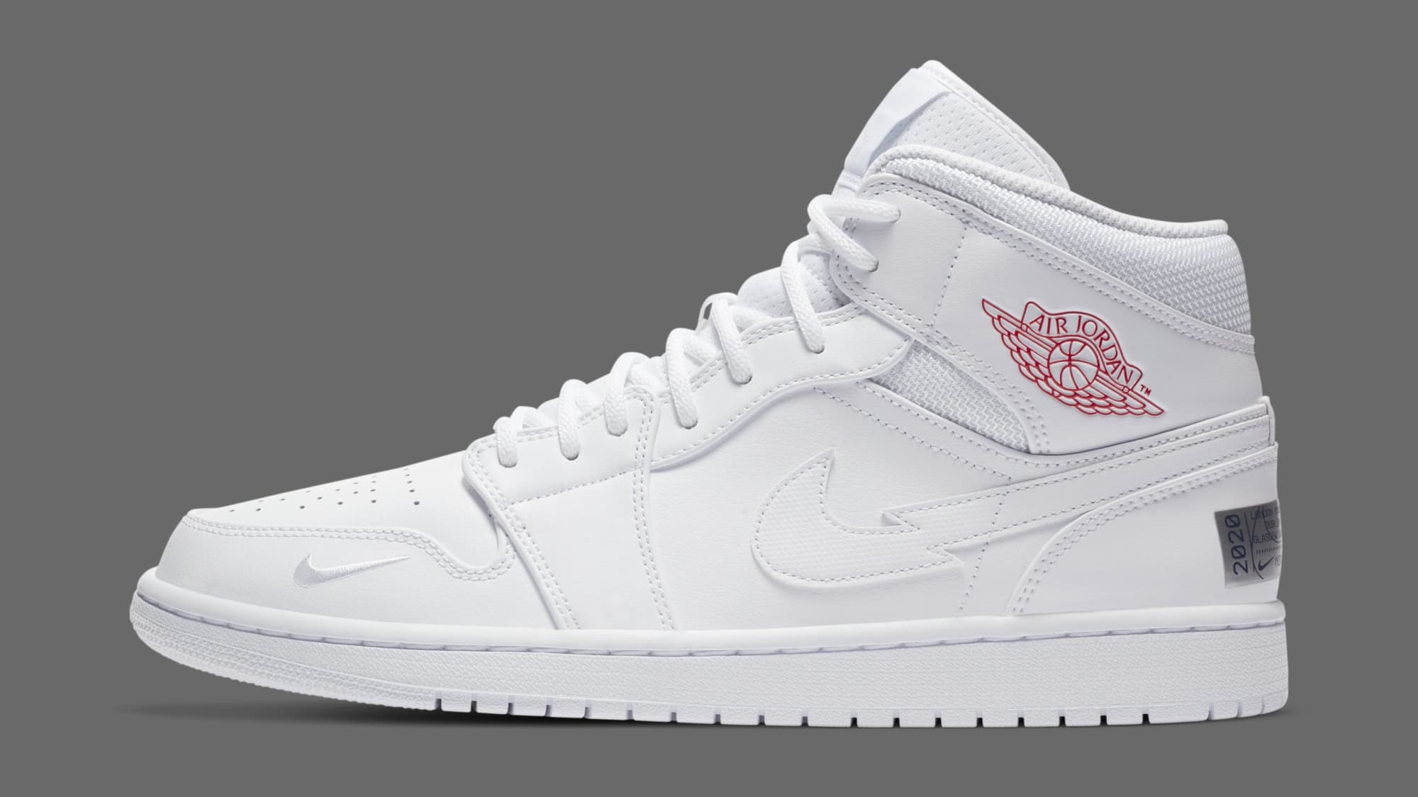 Air Jordan 1 Retro Mid 'Euro Tour' CW7589-100 Lateral