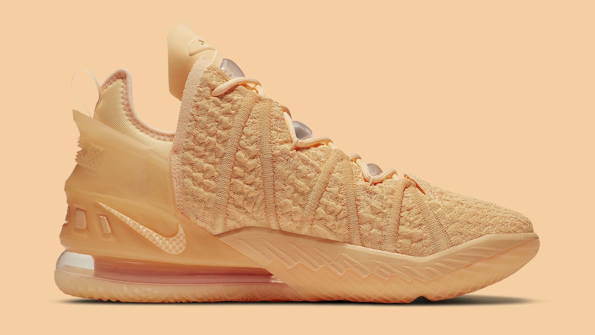 Nike LeBron 18 'Melon Tint' DB8148-801 Medial