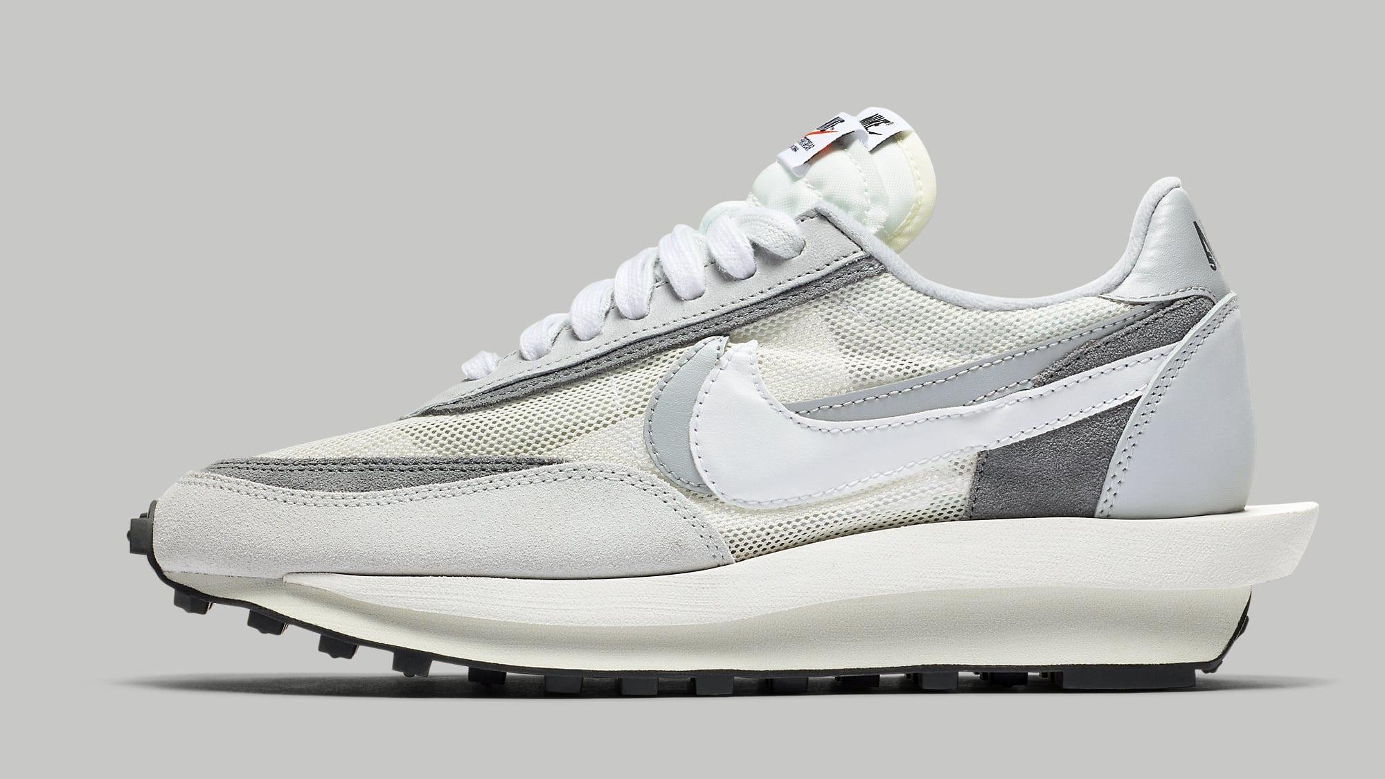 Sacai Nike LDWaffle Summit White Wolf Grey Release Date BV0073-100 Profile