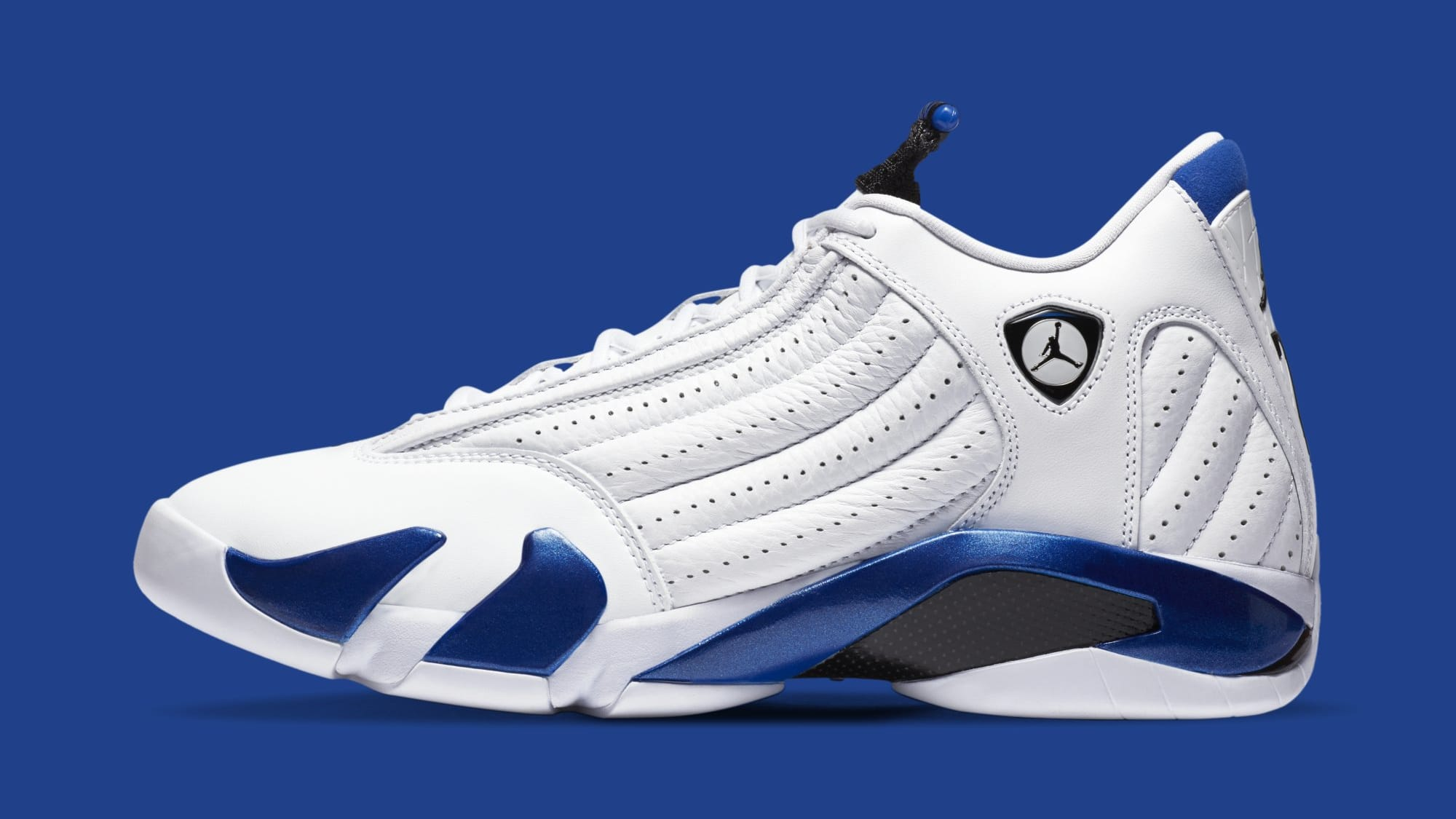 Air Jordan 14 Retro 'Hyper Royal' 487471-104 (Lateral)