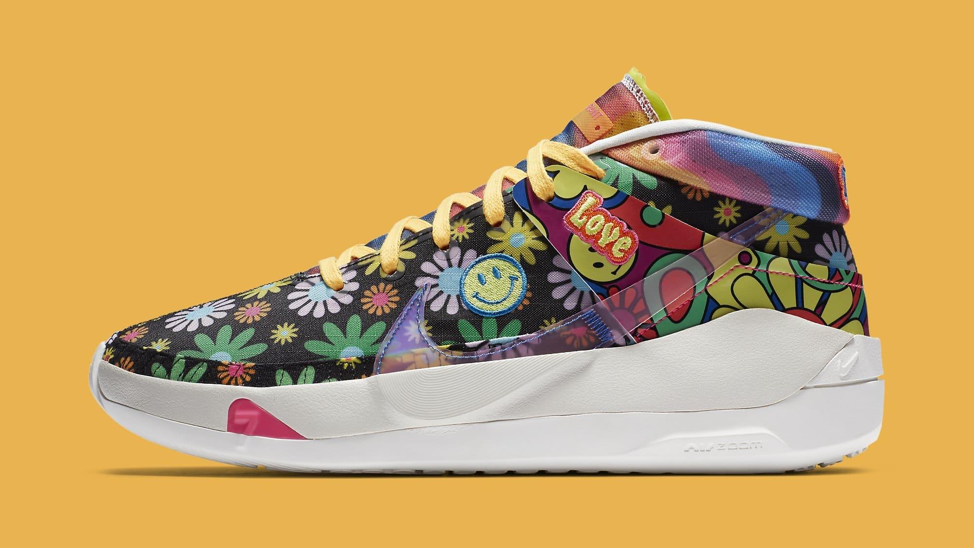 Nike KD 13 'Peace, Love, and Basketball' DA1341-100 Lateral