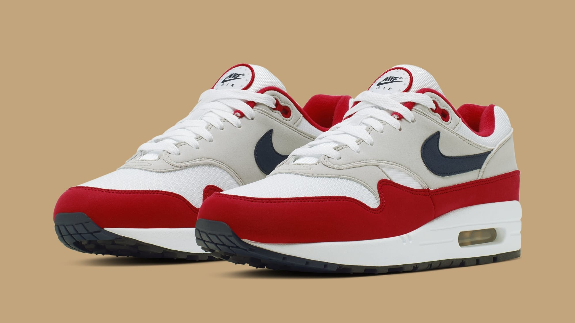 Nike Air Max 1 'Fourth of July' CJ4283-100 (Pair)
