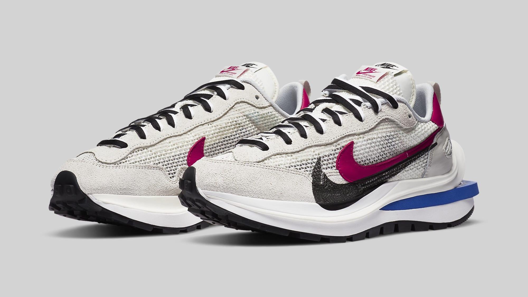 Sacai x Nike VaporWaffle 'Sail' CV1363-100 Pair