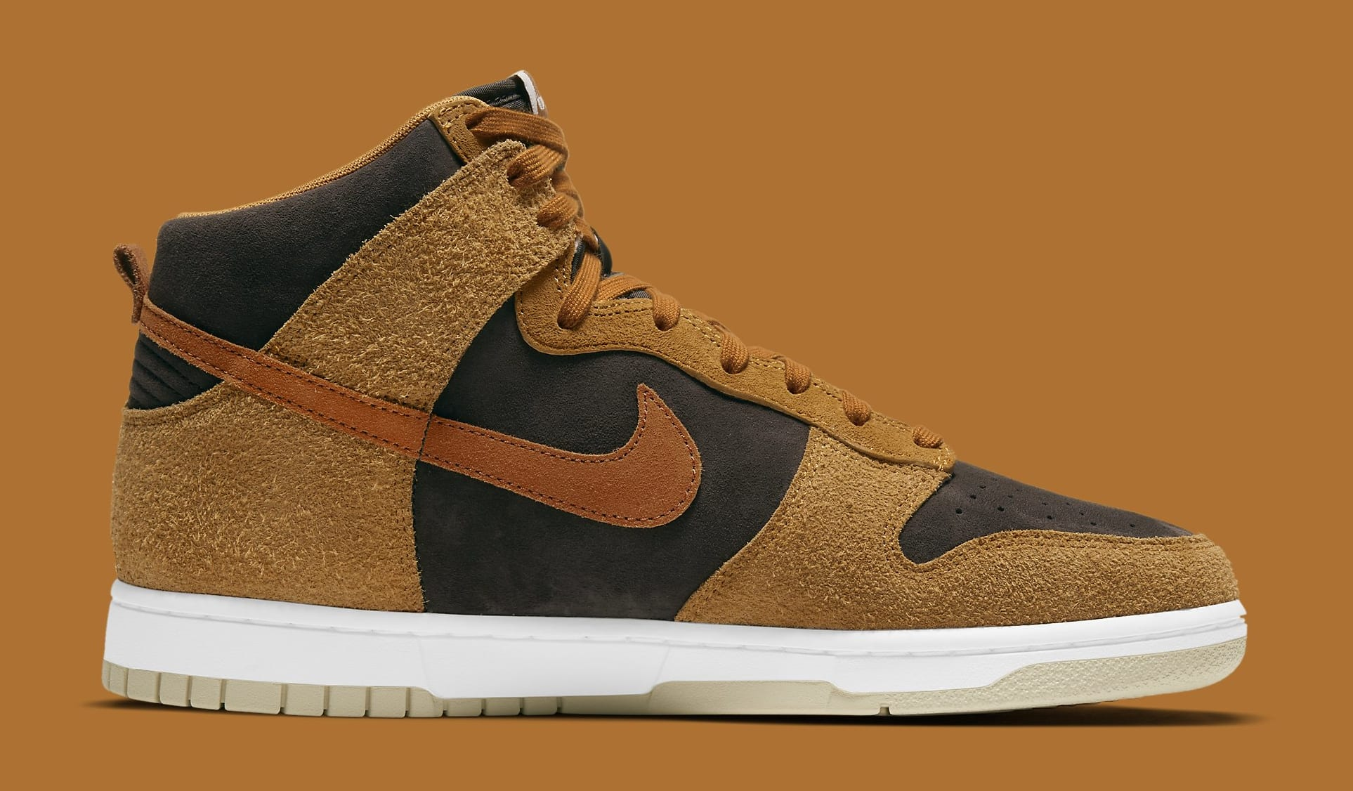 Nike Dunk High 'Dark Curry' DD1401-200 Medial