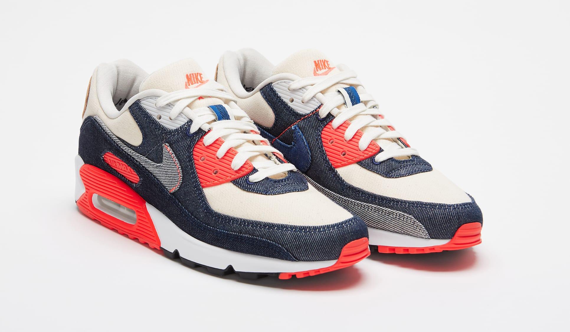 Denham x Nike Air Max 90 Pair