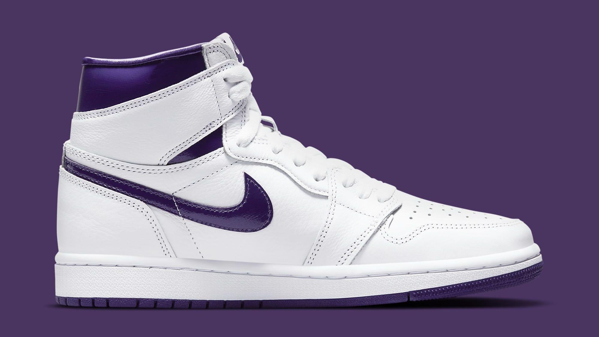Air Jordan 1 Retro High OG Women's 'Court Purple' CD0461-151 Medial