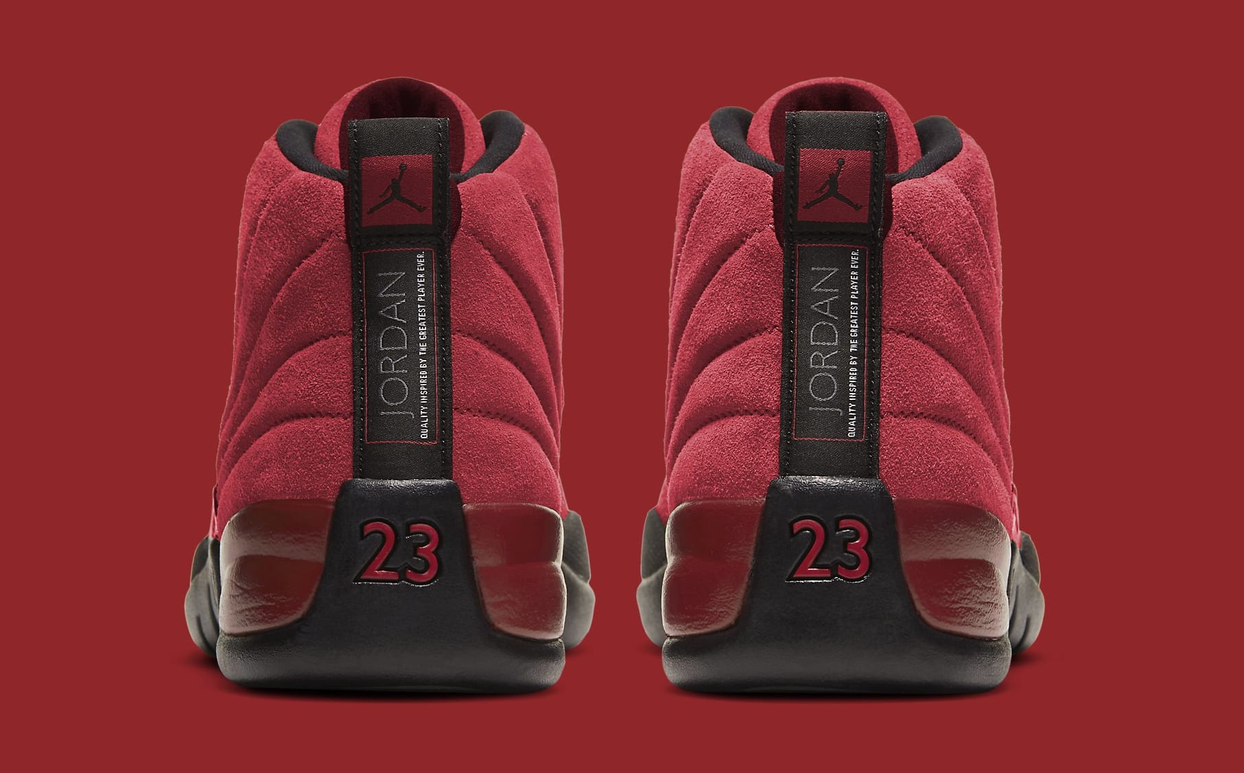 Air Jordan 12 Retro 'Reverse Flu Game' CT8013-602 Heel