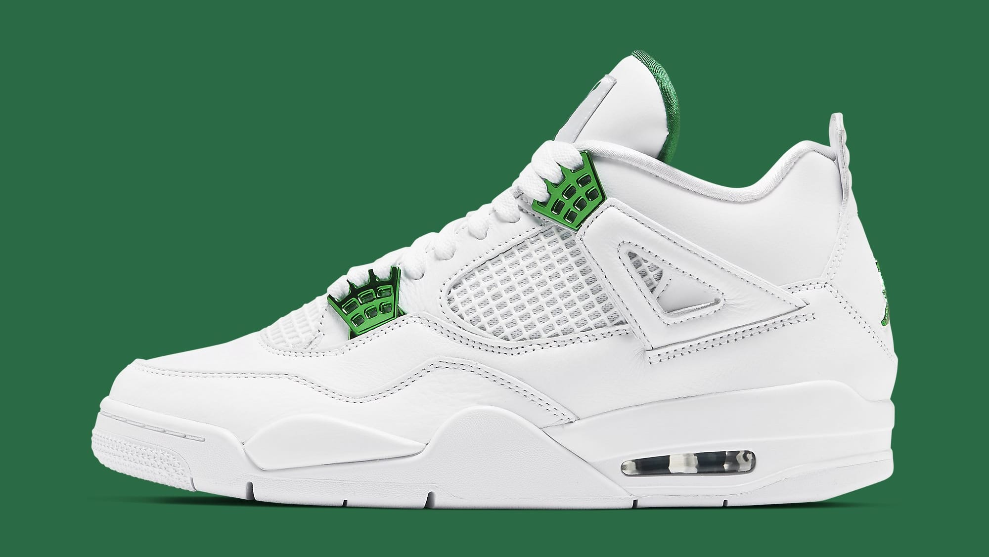Air Jordan 4 Retro 'Metallic Green