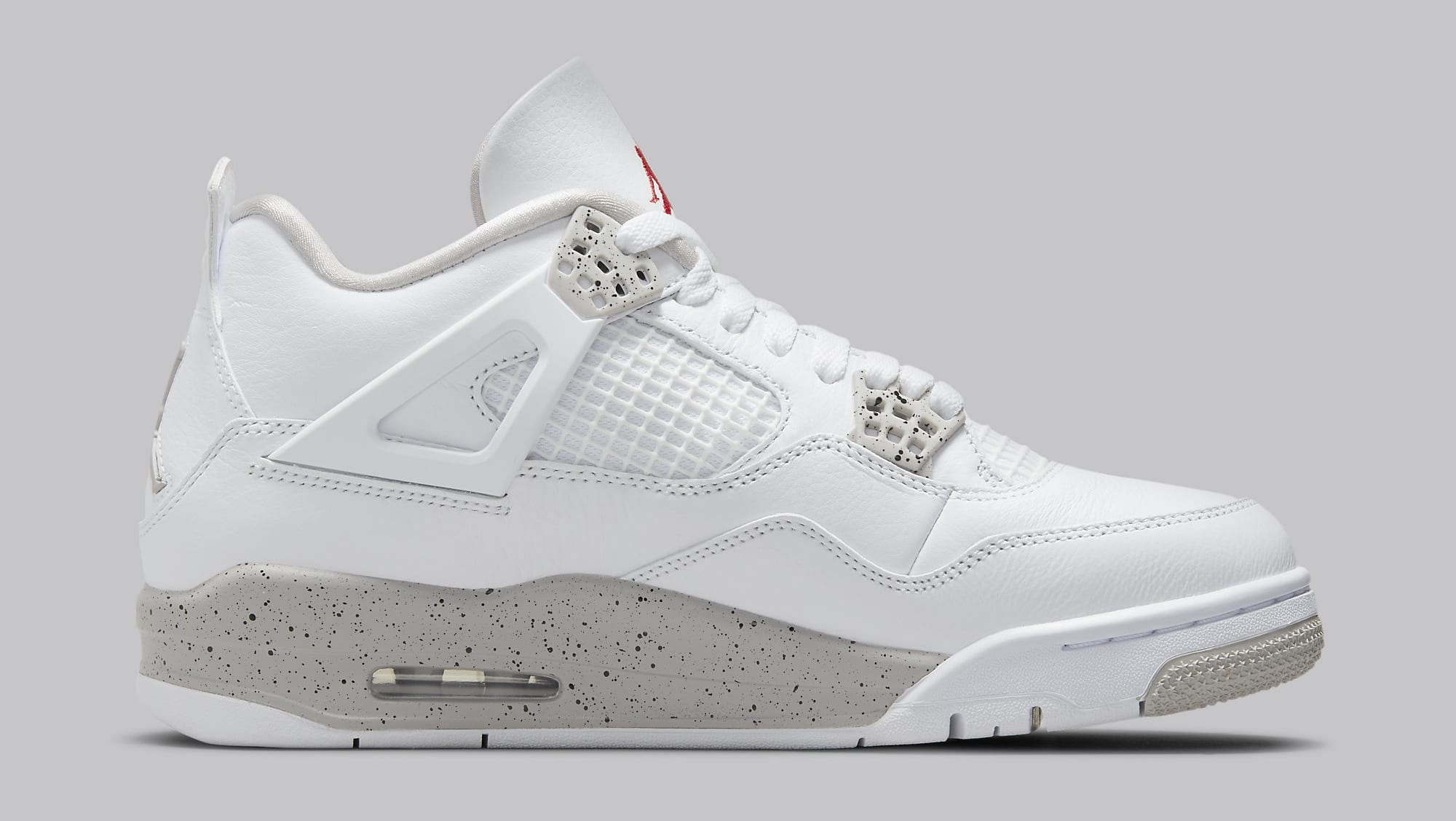 Air Jordan 4 Retro 'White Oreo' CT8527-100 Medial