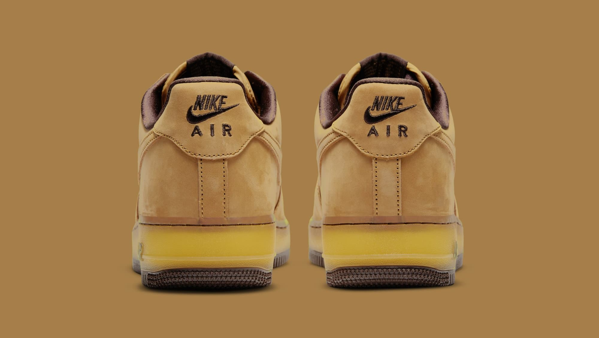Nike Air Force 1 Low CO.JP 'Wheat Mocha' DC7504-700 Heel
