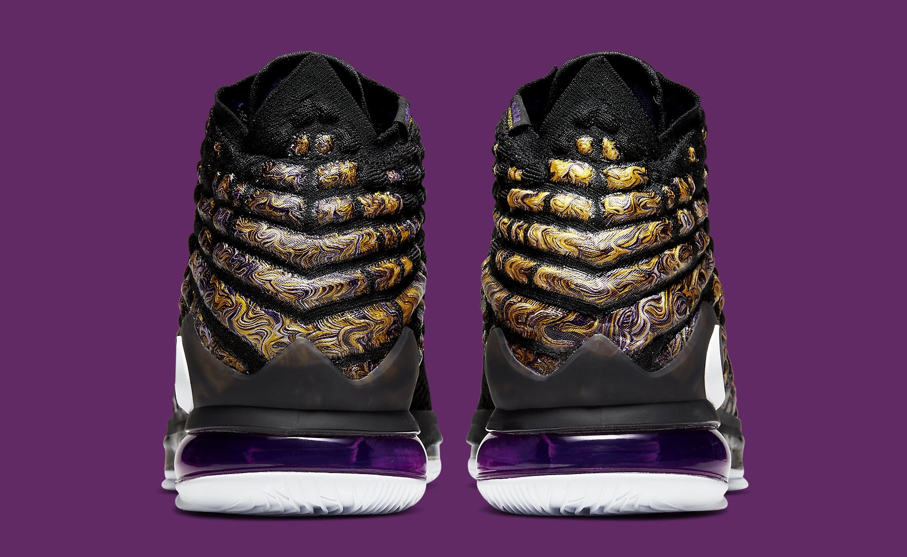 "Nike LeBron 17 ""Lakers"" Coming Soon: Official Photos"