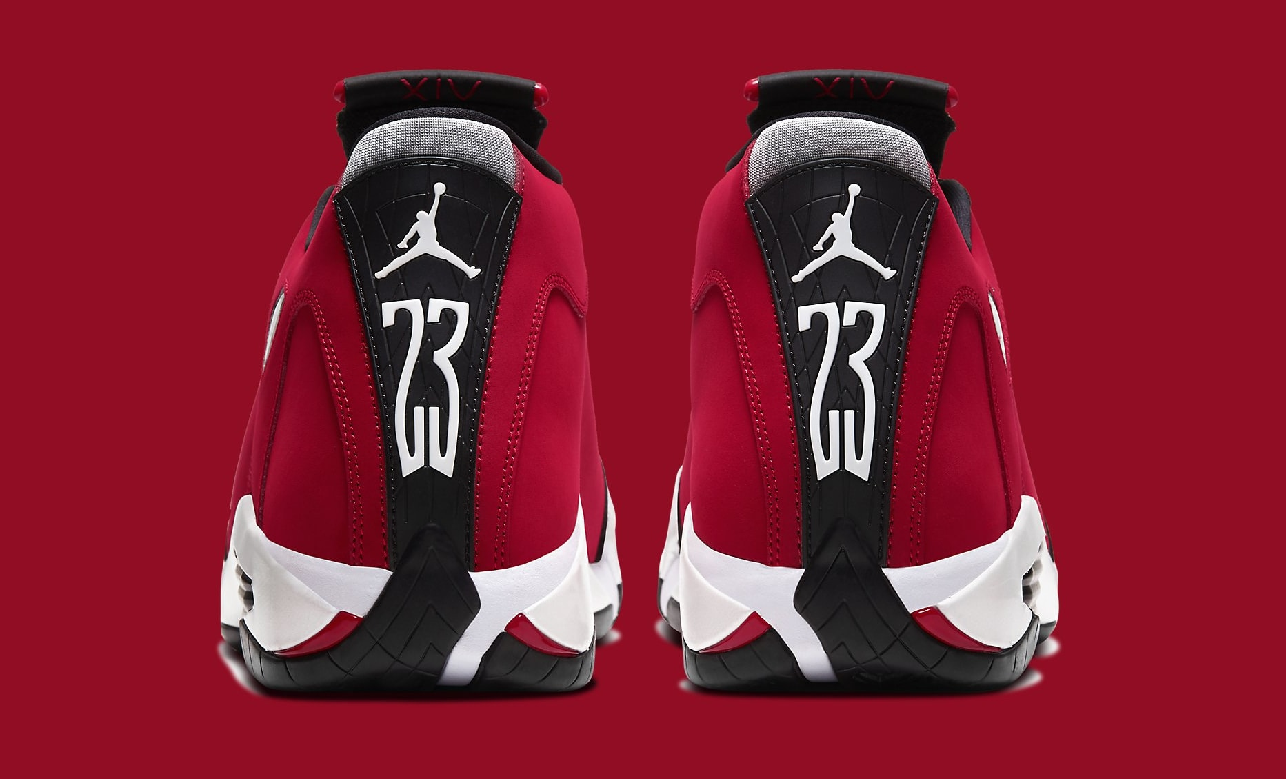 Air Jordan 14 Retro 'Gym Red' 487471-006 Heel
