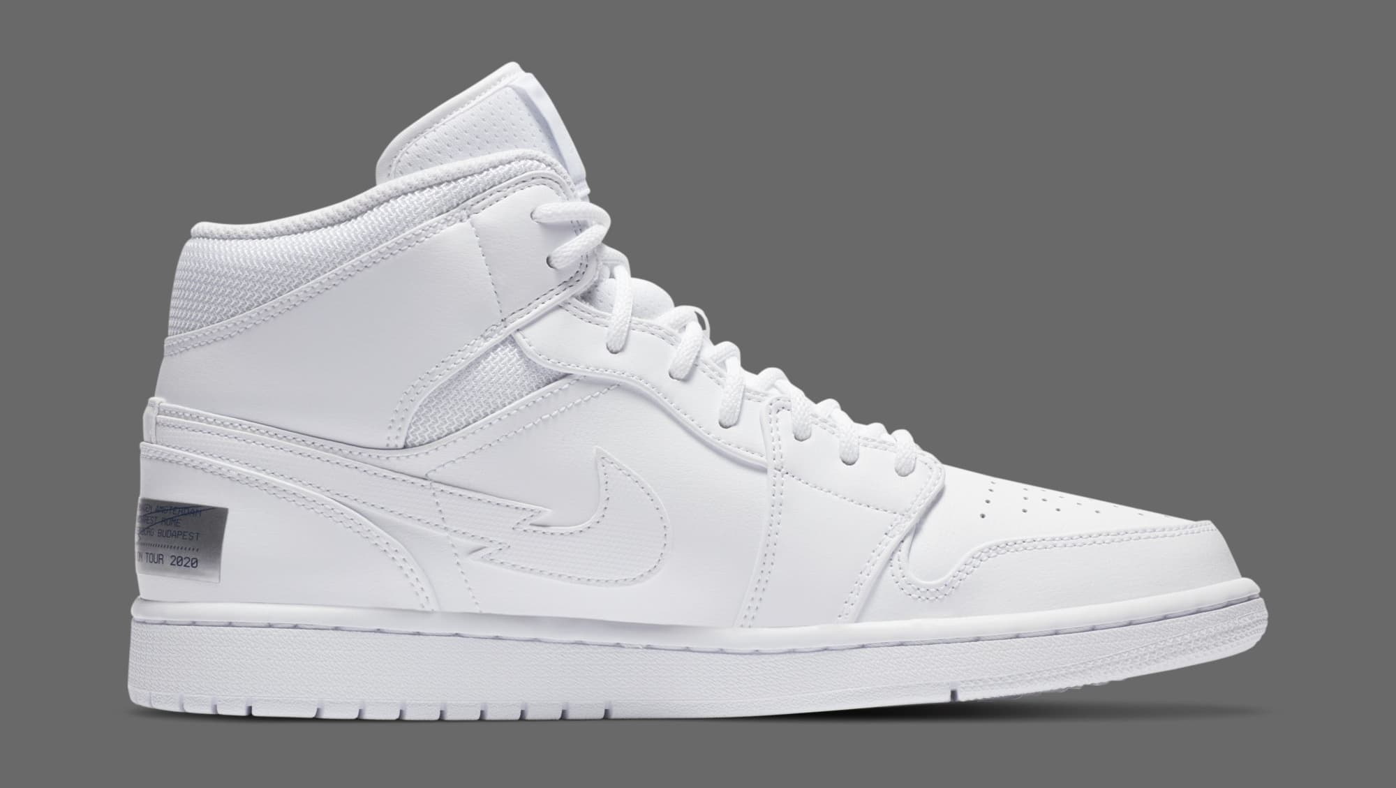 Air Jordan 1 Retro Mid 'Euro Tour' CW7589-100 Medial