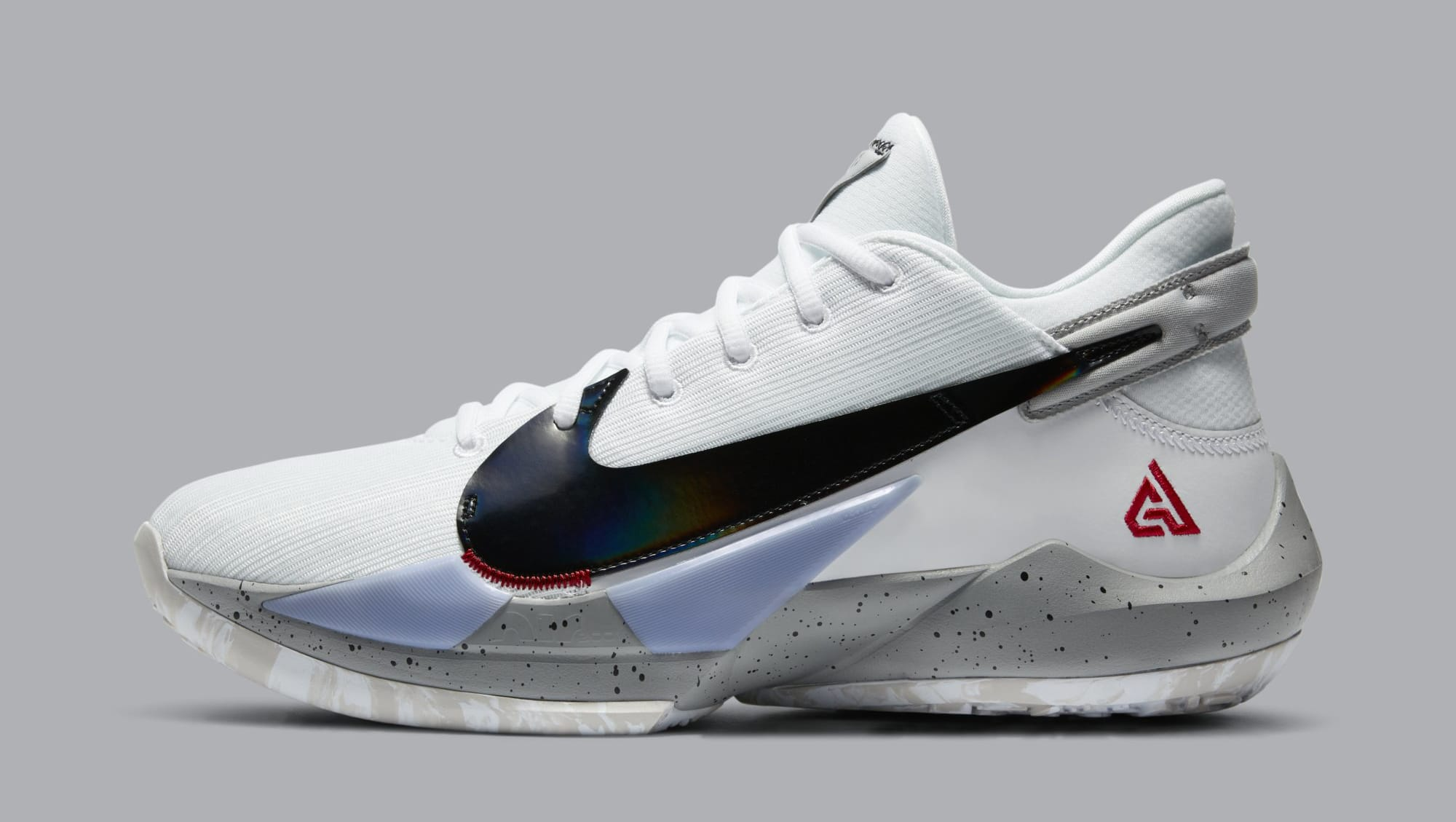 Nike Air Zoom Freak 2 'White/Cement' CK5825-100 (Lateral)