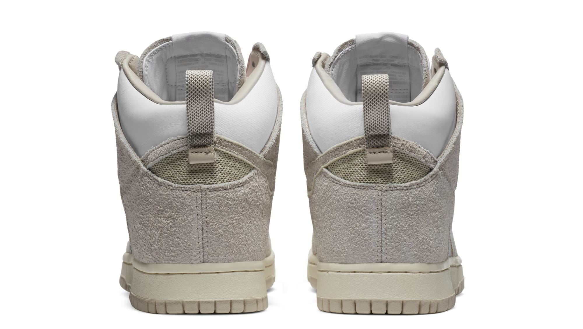 Notre x Nike Dunk High 'Light Orewood Brown/White' (Heel)