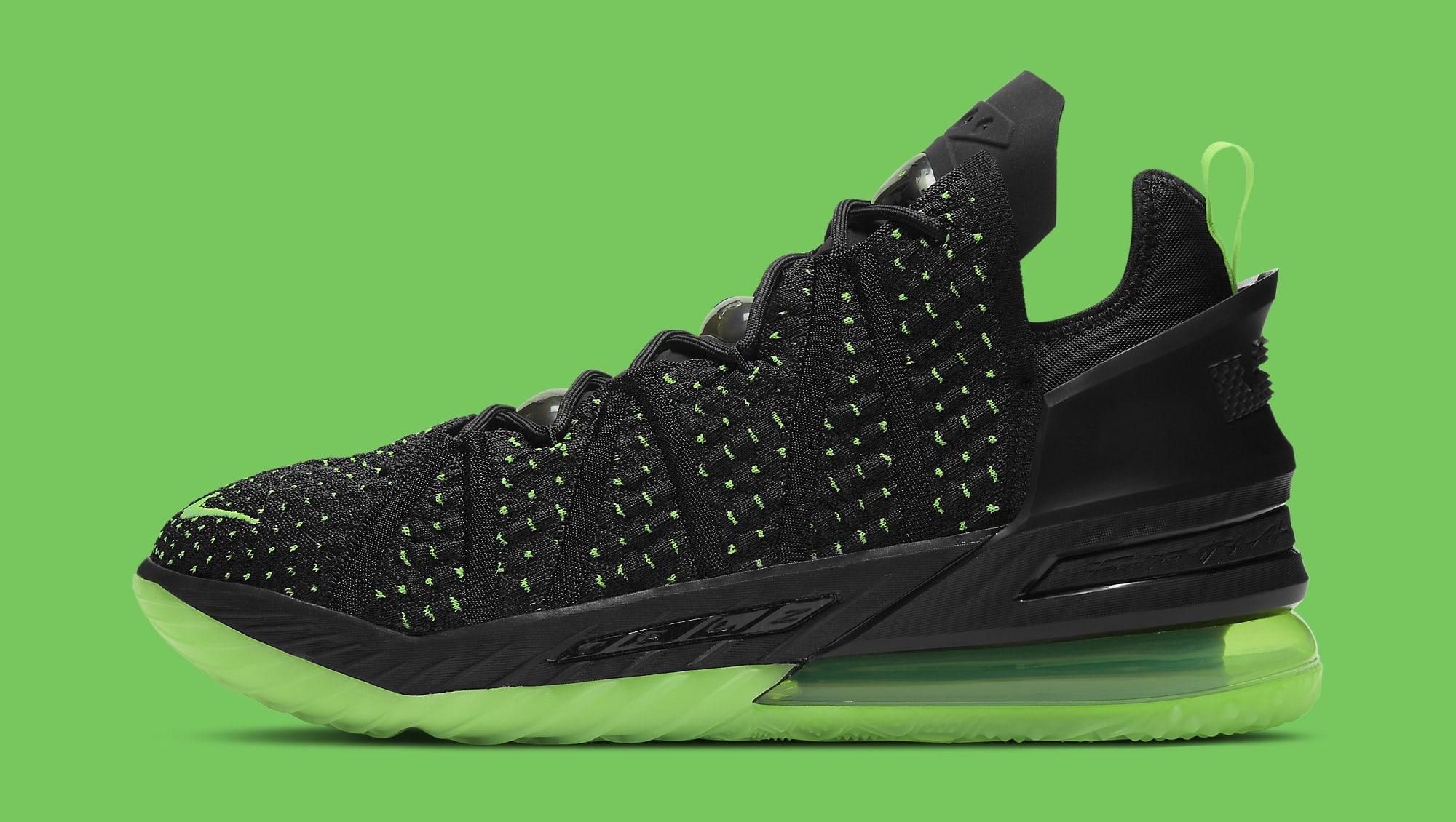 Nike LeBron 18 'Dunkman' CQ9284-005 Lateral