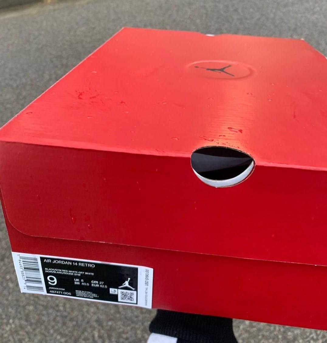 Air Jordan 14 Retro 'Gym Red' 487471-006 Box