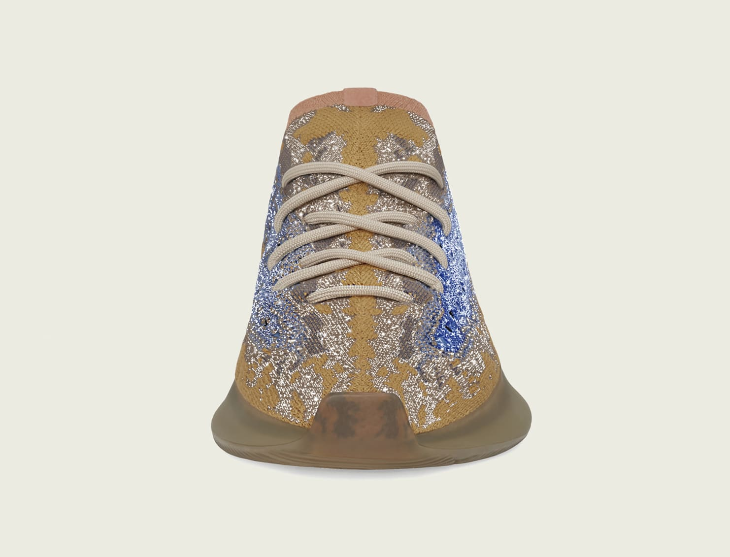 Adidas Yeezy Boost 380 'Blue Oat' Reflective FX9847 Front