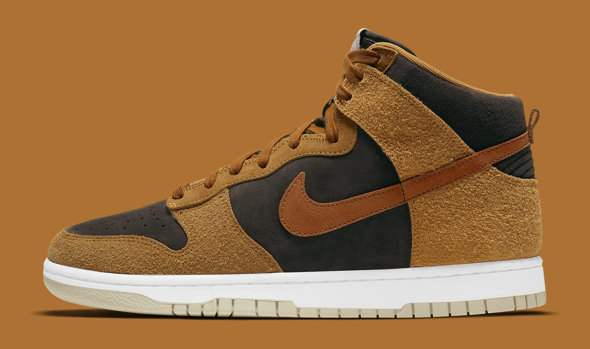 Nike Dunk High 'Dark Curry' DD1401-200 Lateral