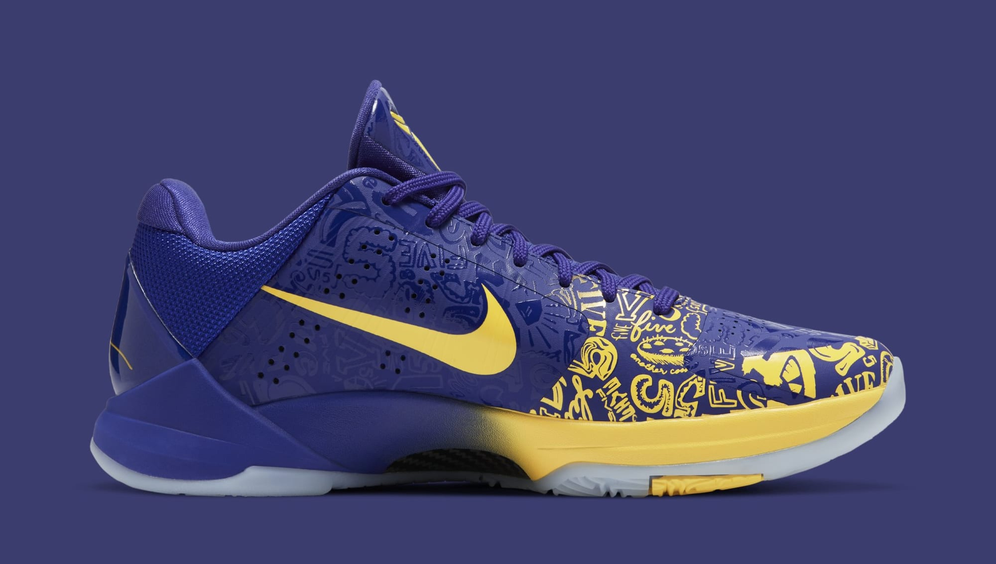 Nike Kobe 5 Protro '5 Rings' CD4991-400 Medial