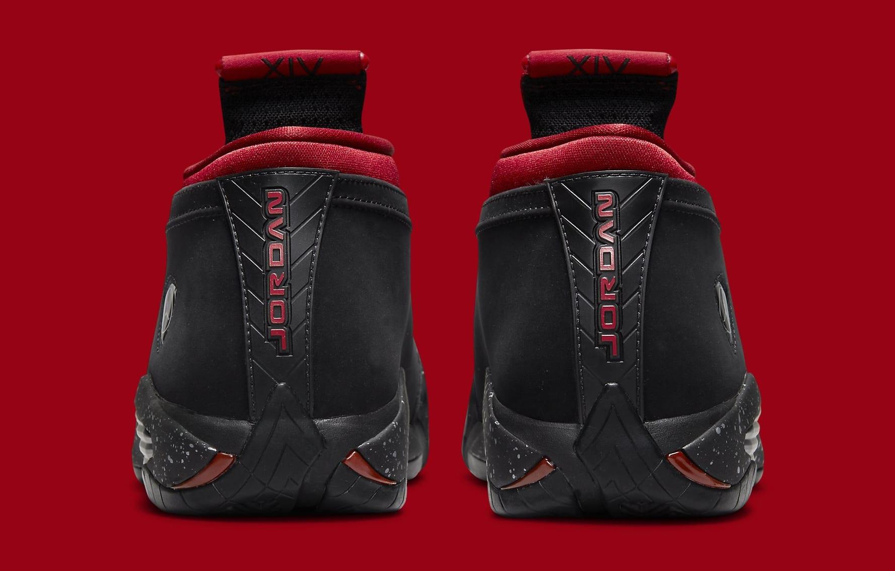 Air Jordan 14 Low Women's 'Red Lipstick' DH4121-006 Heel