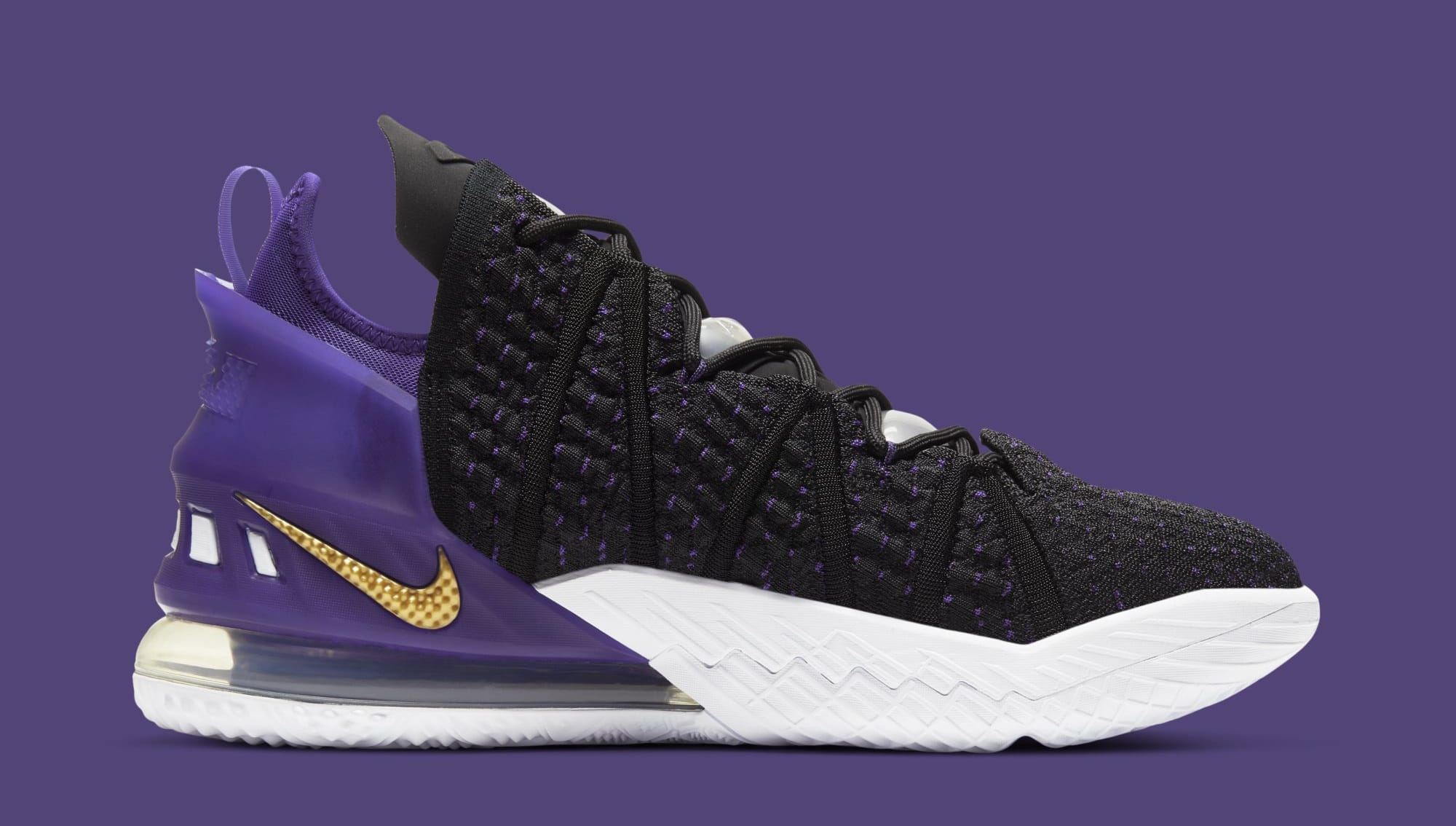 Nike Lebron 18 Lakers Cq9283 004 Release Date Sole Collector