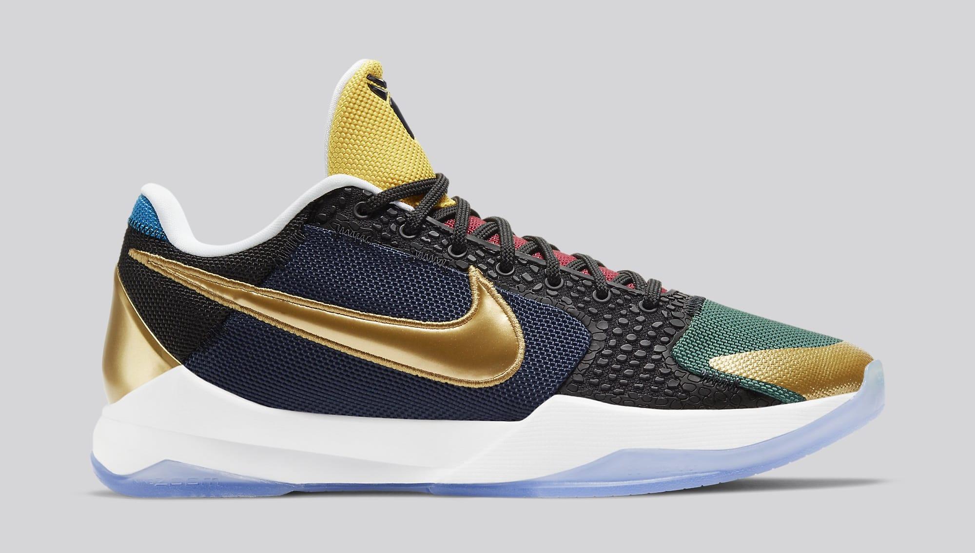 Undefeated x Nike Kobe 5 Protro 'Dirty Dozen' DB5551-900 Lateral