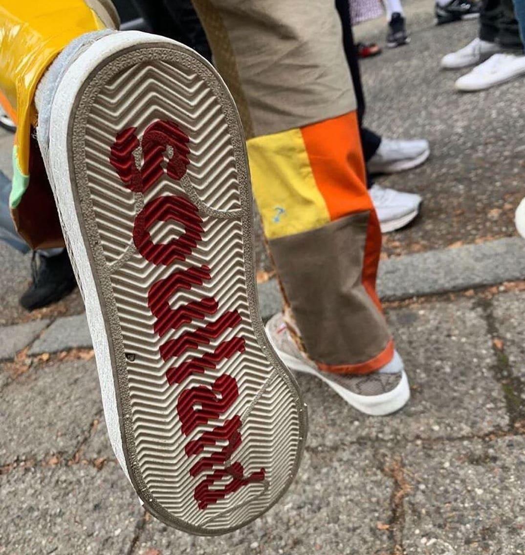 Soulland x Nike SB Blazer Mid 'Snakeskin' First Look Outsole