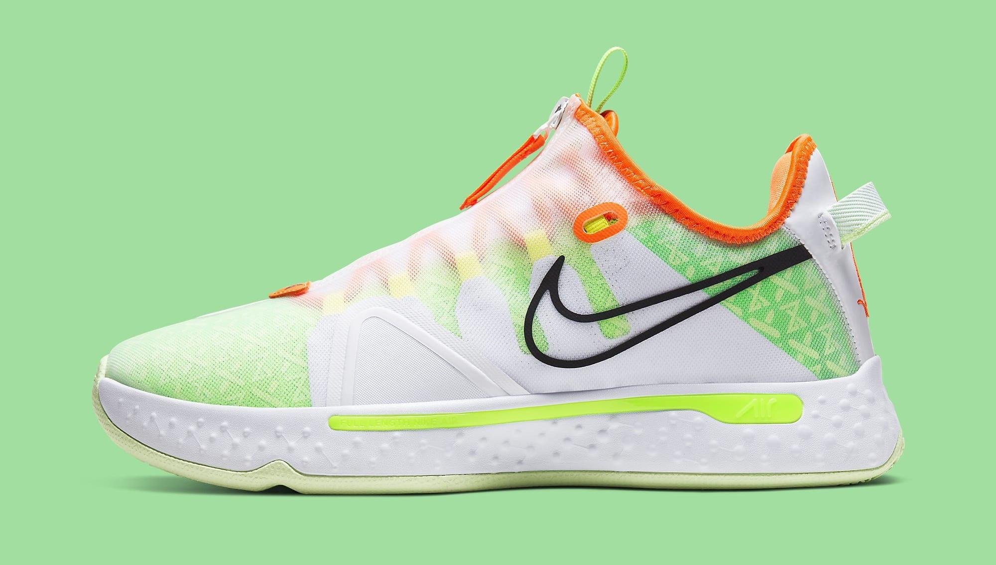 Gatorade x Nike PG 4 CD5086-100 Lateral