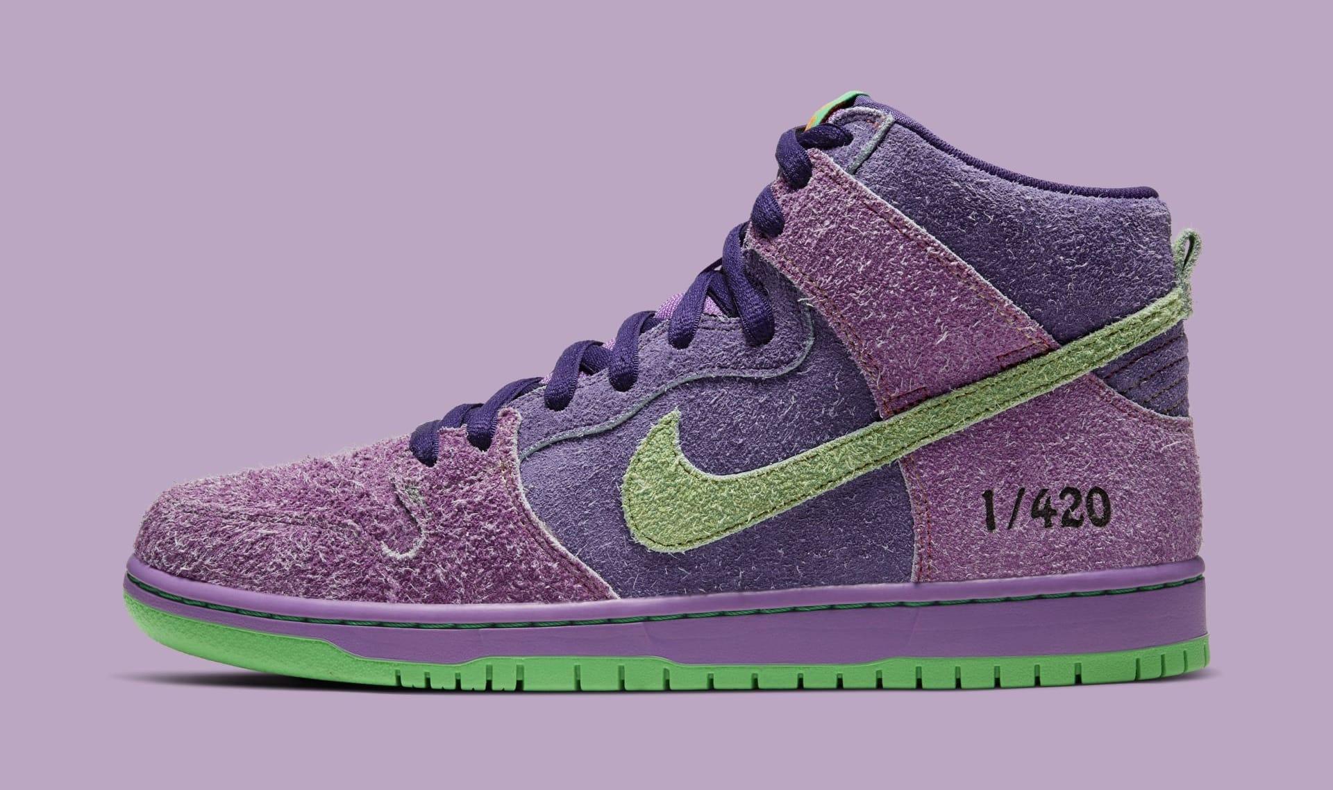 Nike SB Dunk High '420' 2020 Lateral