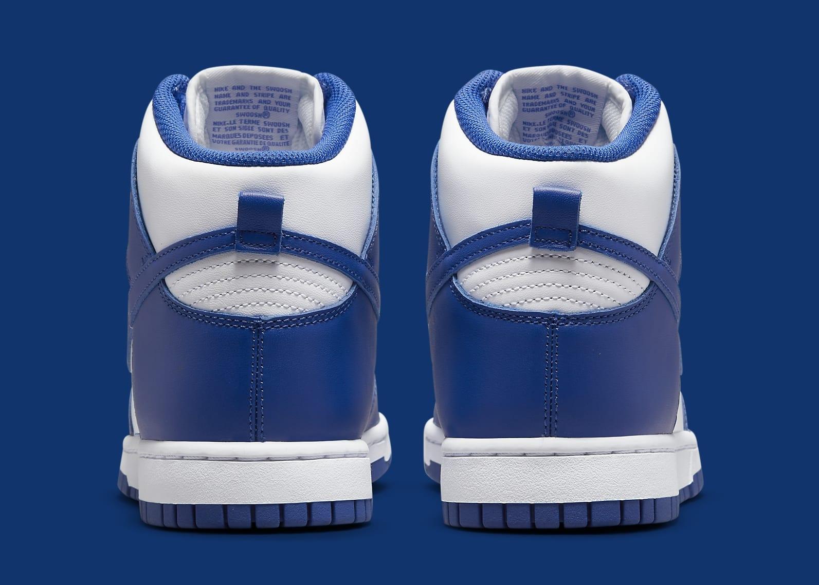 Nike Dunk High 'Kentucky' DD1399-102 Medial