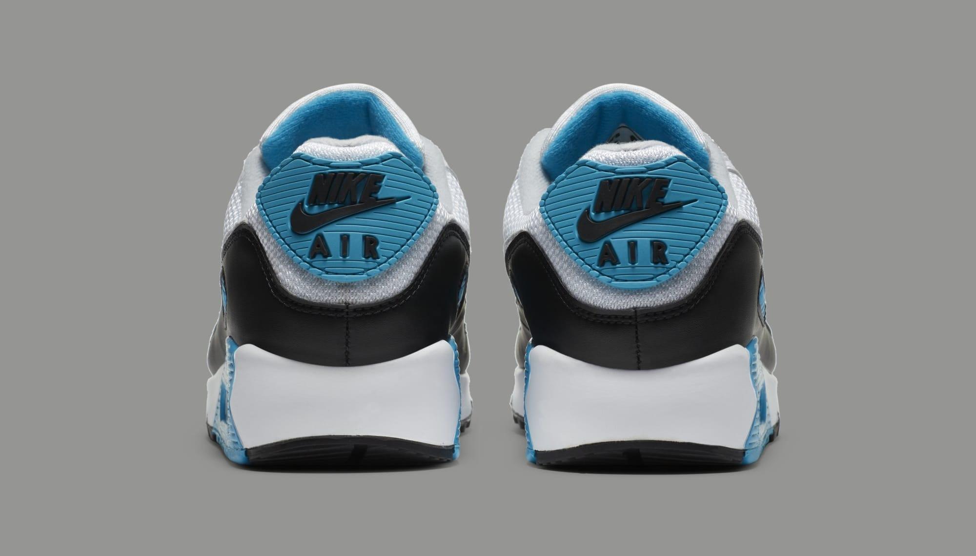 Nike Air Max 90 'Laser Blue' CJ6779-100 Heel
