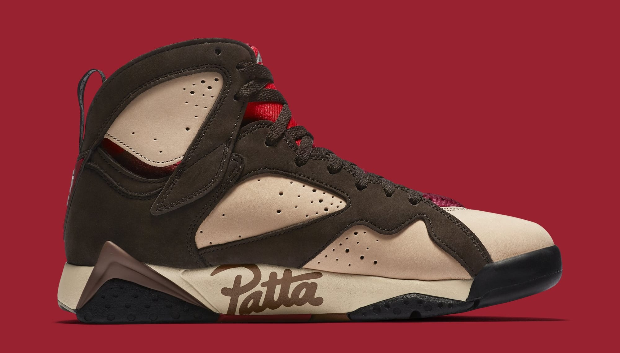 Patta x Air Jordan 7 AT3375-200 (Medial)