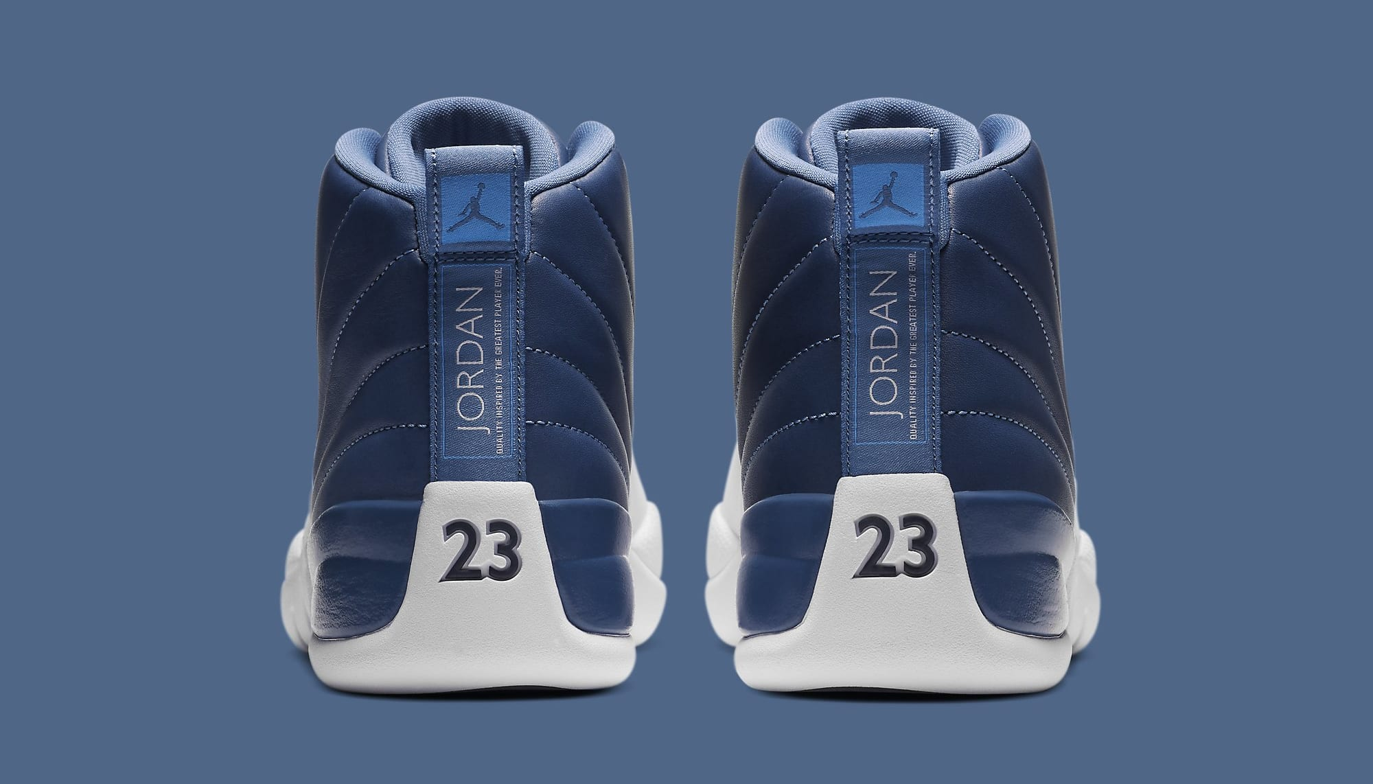 Air Jordan 12 Retro 'Indigo' 130690-404 Heel