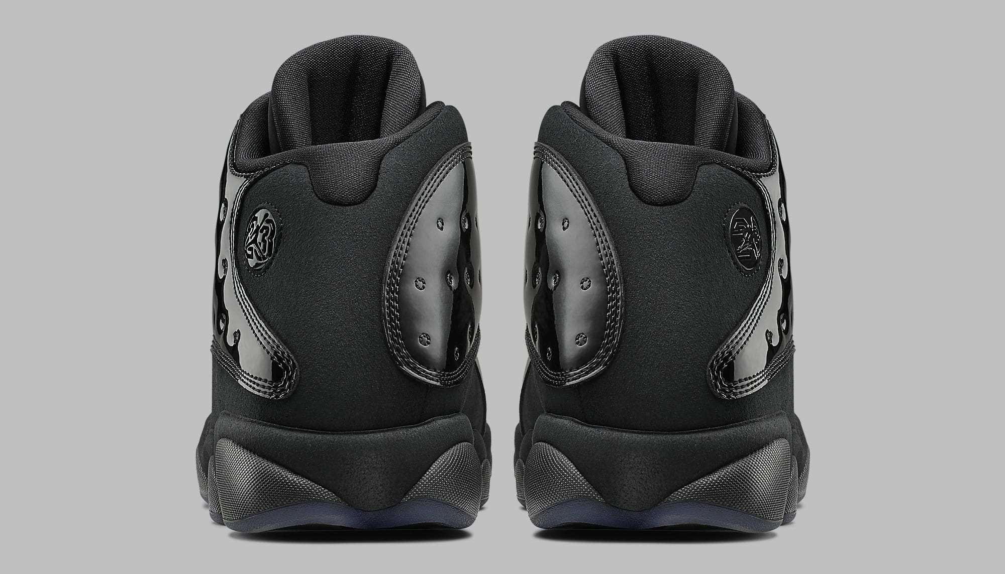 hot sale online f0ef0 9b576 Image via Nike Air Jordan 13 Retro  Cap and Gown  414571-012 Heel