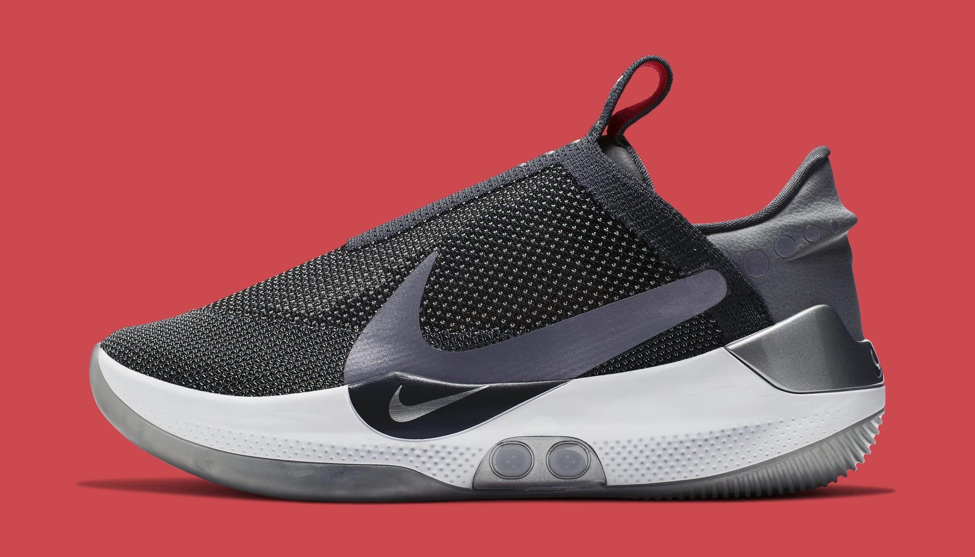 Nike Adapt BB 'Dark Grey' AO2582-004 (Lateral)