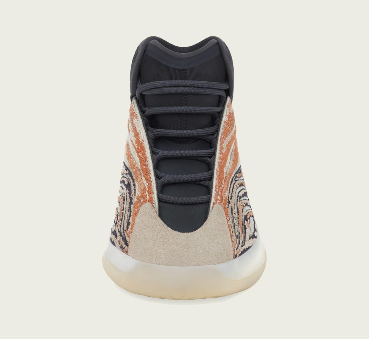 Adidas Yeezy QNTM 'Flash Orange' GW5314 Front