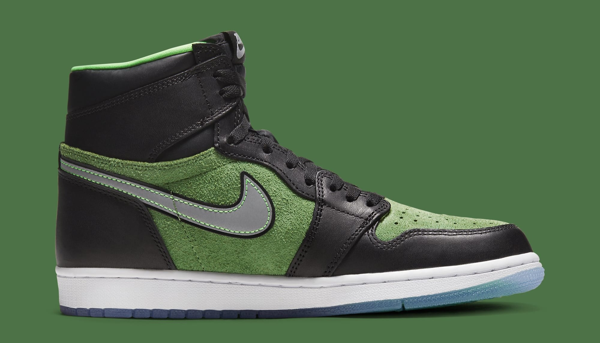Air Jordan 1 High Zoom 'Rage Green' CK6637-002 Medial