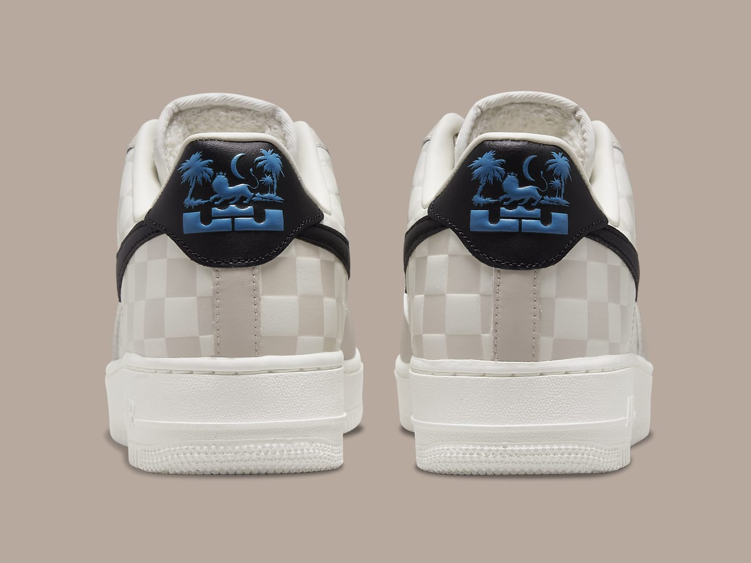 LeBron James x Nike Air Force 1 Low Strive for Greatness Release Date DC8877-200 Heel