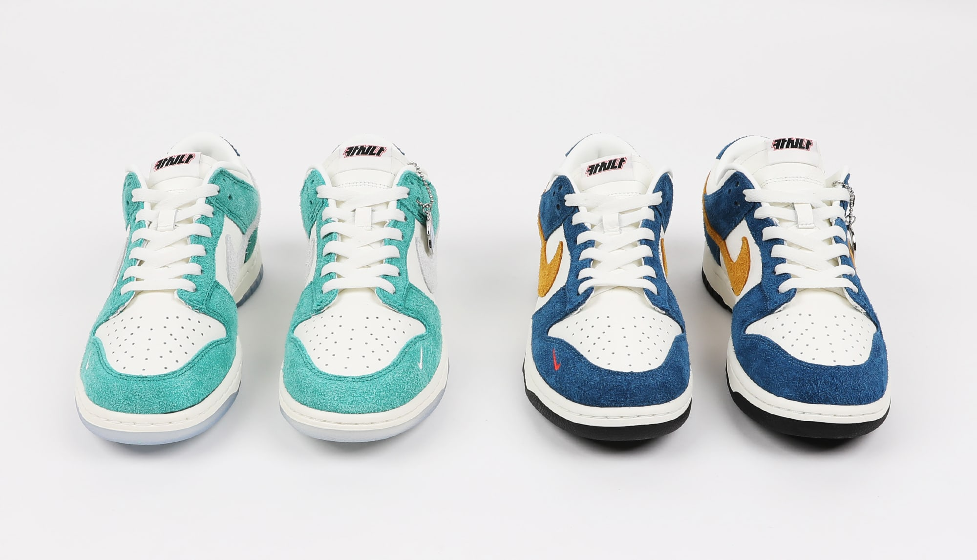 Kasina x Nike Dunk Low Collaboration (Front)