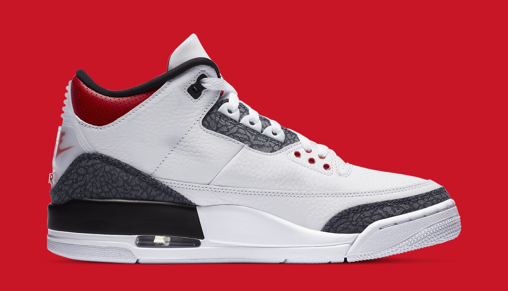 Air Jordan 3 Retro Denim CZ6431-100 Medial