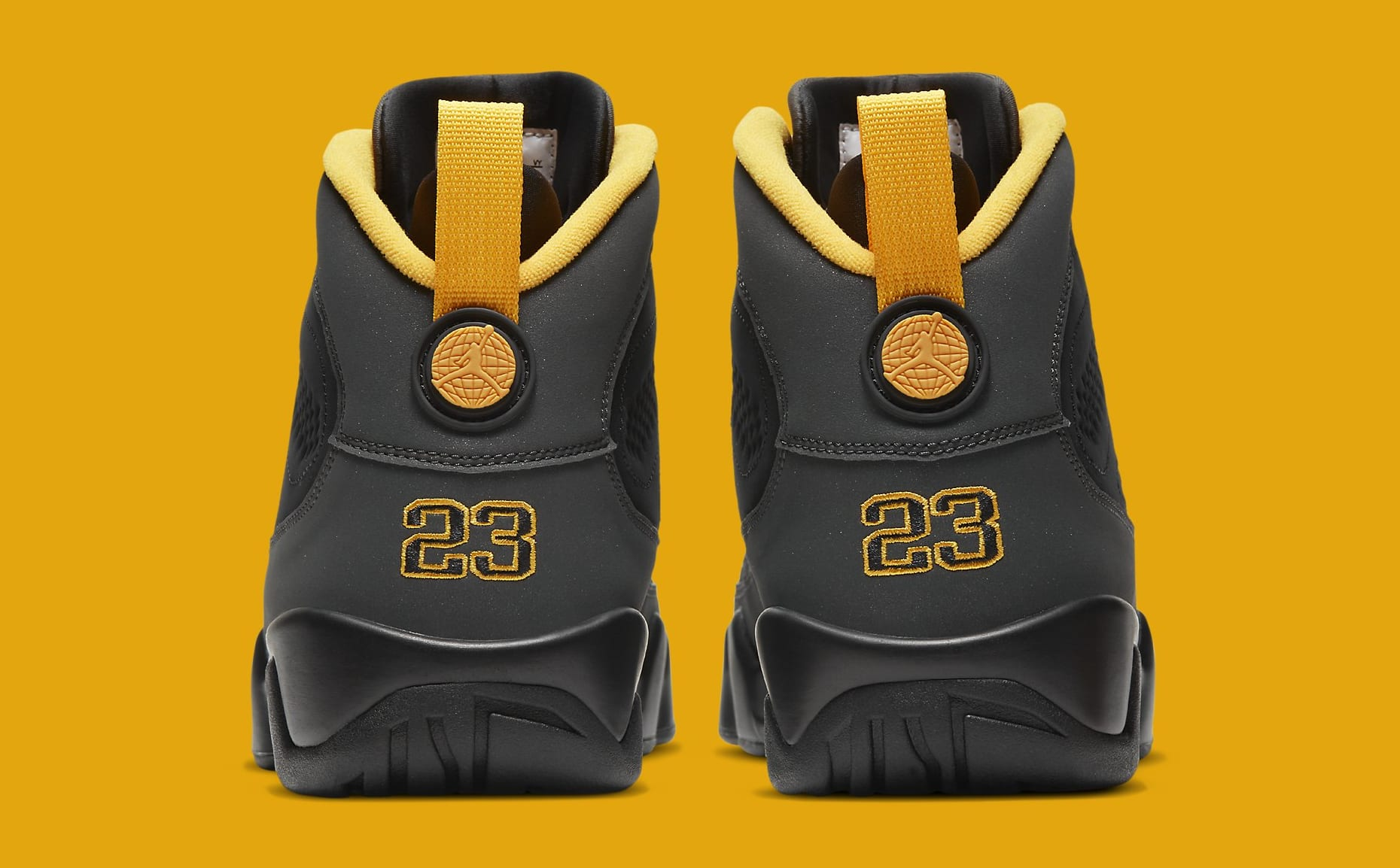 Air Jordan 9 Retro 'University Gold' CT8019-070 Heel