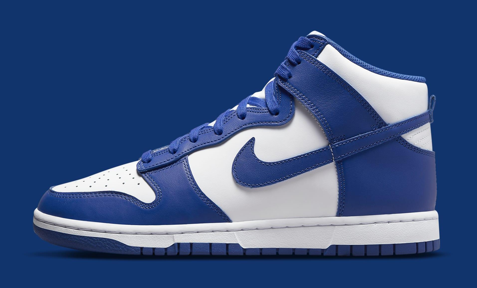 Nike Dunk High 'Kentucky' DD1399-102 Lateral