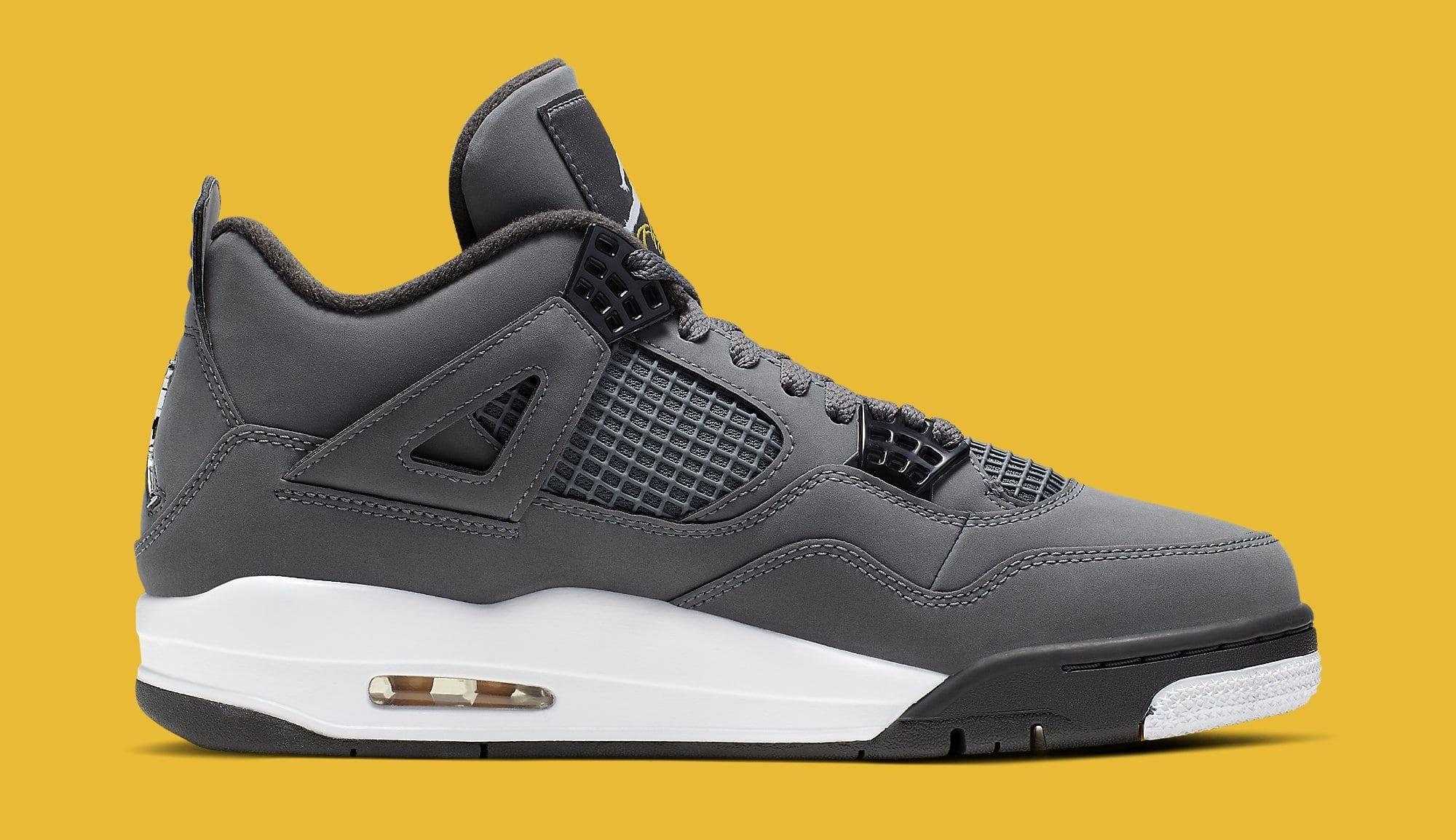 Air Jordan 4 'Cool Grey' 308497-007 (Medial)