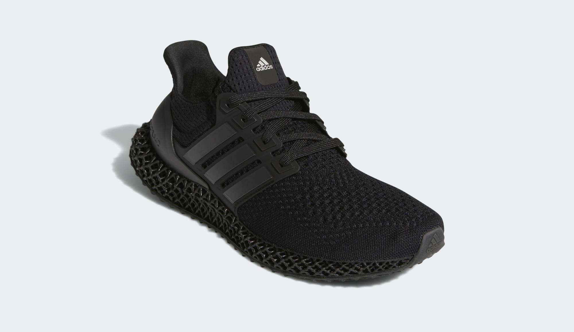 Adidas Ultra 4D 'Black' FY4286 Front