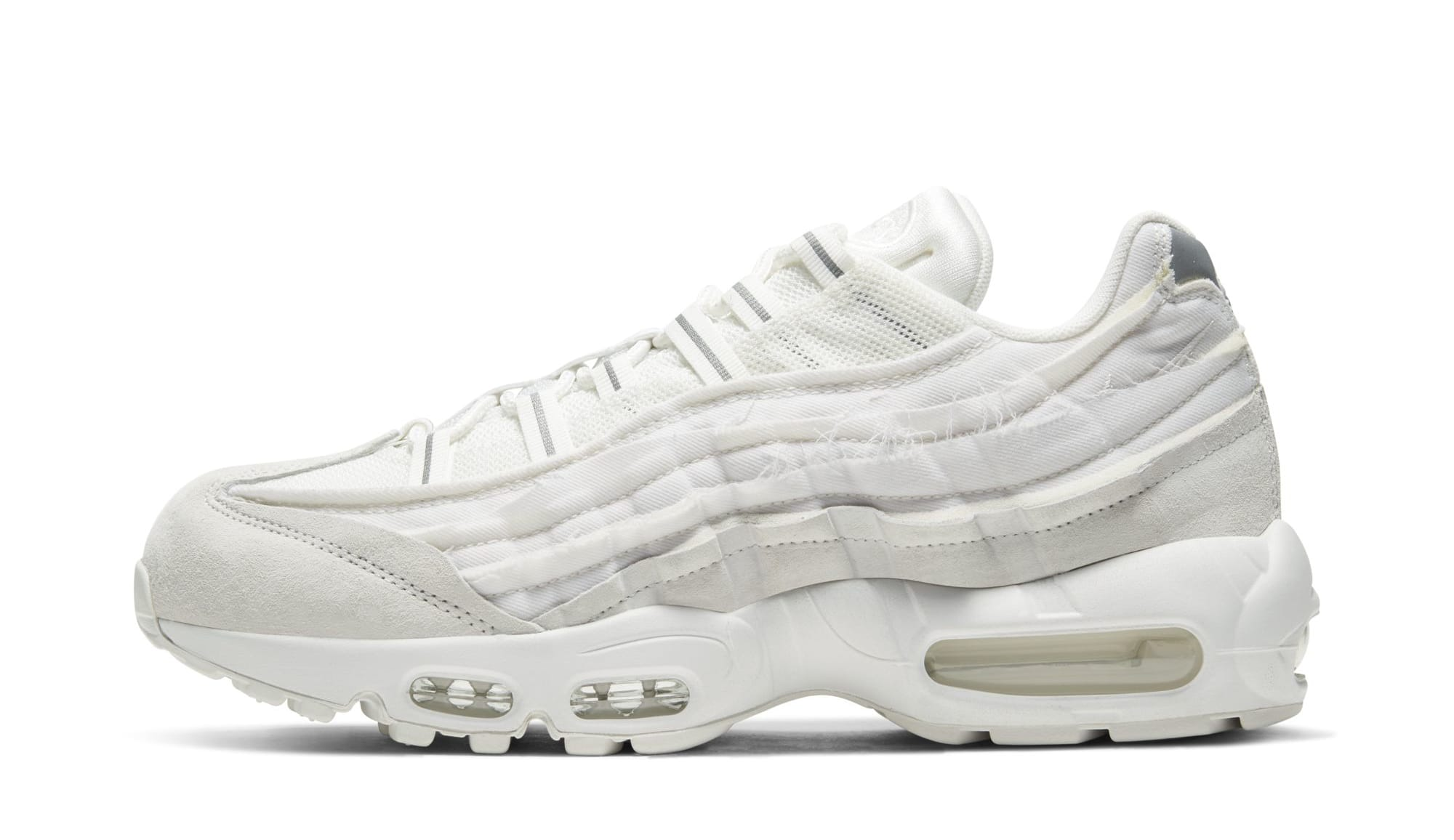 Comme des Garçons x Nike Air Max 95 'White' (Lateral)