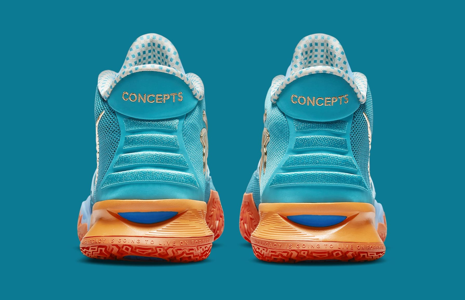 Concepts x Nike Kyrie 7 CT1137-900 Heel