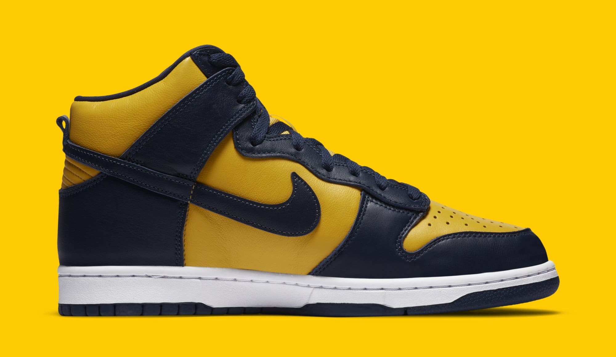 Nike Dunk High SP 'Michigan' CZ8149-700 Medial