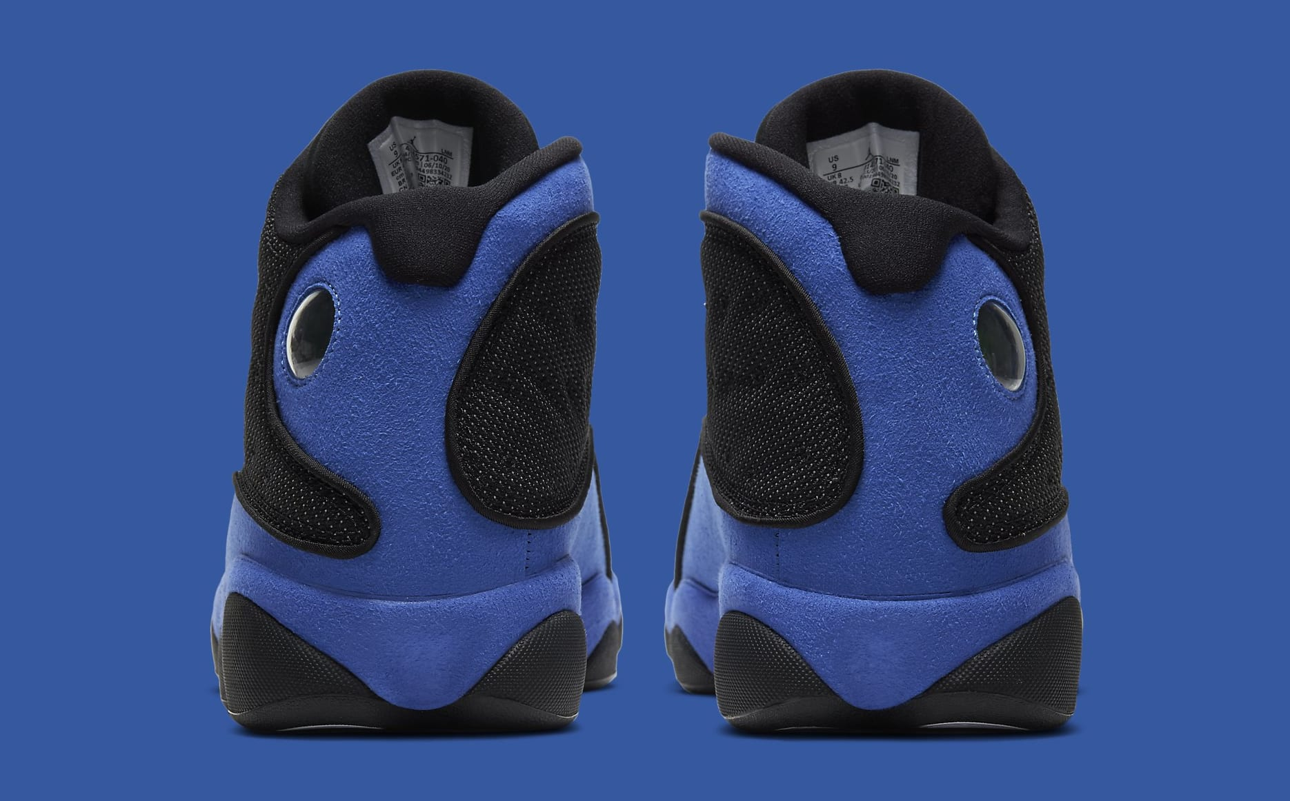 Air Jordan 13 Retro 'Hyper Royal' 414571-040 Heel